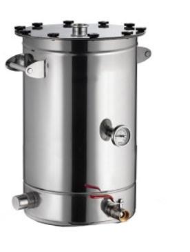 Перегонный куб AquaGradus Универсал объем 75 литров (на болтовых соединениях)