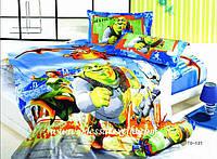 Полуторное постельное белье  TD ELWAY 121 сатин