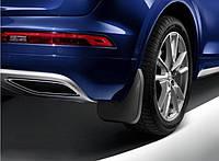 Брызговики Audi Q8 (18-) S-Line задние, кт 2шт 4M8075106