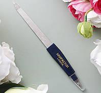 Пилочка маникюрная для ногтей металлическая с резцом  Б-06