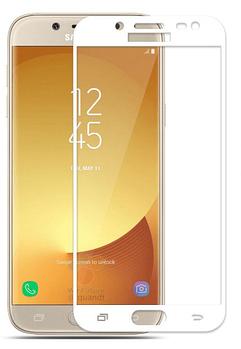 Защитное цветное стекло Mocolo (full glue) на весь экран для Samsung J730 Galaxy J7 (2017)