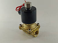 """Електромагнітний клапан 1/2"""" 12В нормально-відкритий, фото 1"""