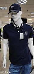 Футболка-поло для мужчин BOGNER копия класса люкс Темно-синий , 2XL