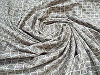 Ткань для пошива постельного белья сатин, Витражный