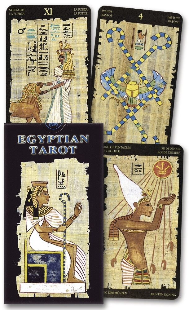 Egyptian Tarot Deck/ Египетское Таро