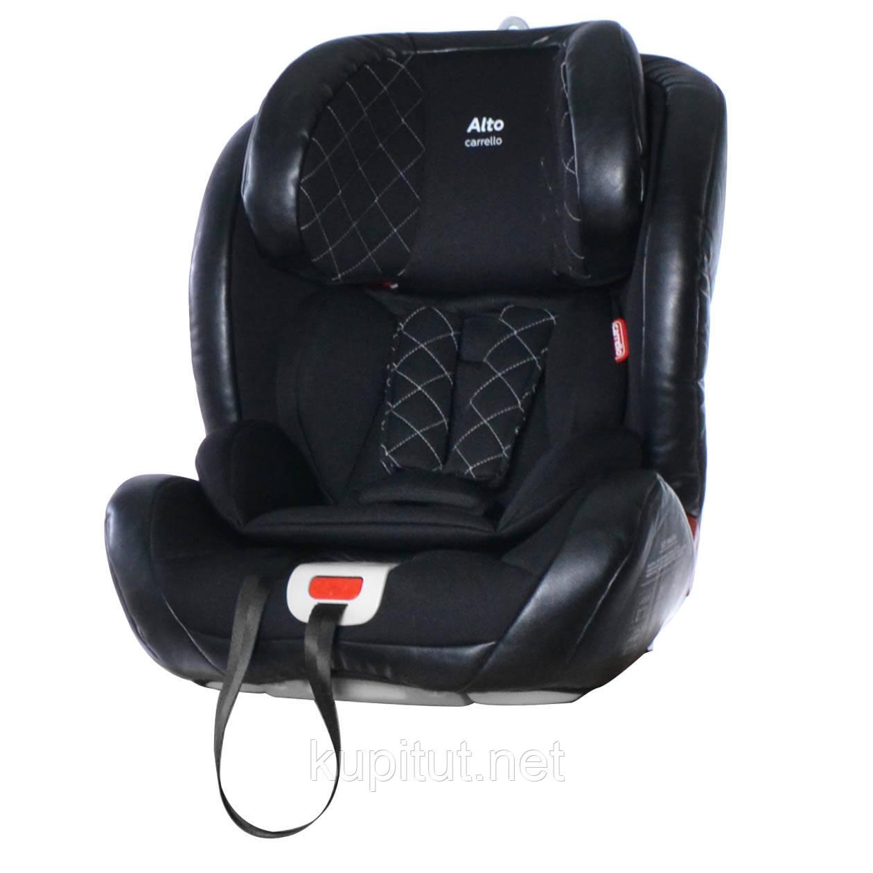 Автокресло CARRELLO Alto CRL-11805 ISOFIX Black Panter черный группа 1-2-3 /1/