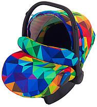 Автокресло Adamex Kite Y123 разноцветный калейдоскоп