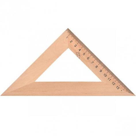 Треугольник деревянный 16см., фото 2