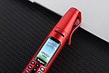Ручка мобильный телефон портативный с камерой 0.08 MP и Bluetooth AK 007 (Красный), фото 2