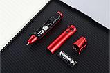 Ручка мобильный телефон портативный с камерой 0.08 MP и Bluetooth AK 007 (Красный), фото 4
