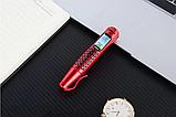Ручка мобильный телефон портативный с камерой 0.08 MP и Bluetooth AK 007 (Красный), фото 7