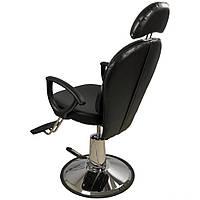 Универсальное парикмахерское кресло для визажистов, для бровистов, для барбершопа эконом кресло ZD-346B
