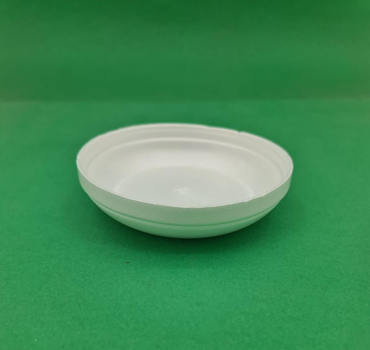 Крышка из вспененного полистирола к суповым емкостям к супной емкости 330мл / 500мл / 650мл 25шт / упак / 500шт / ящ (25 шт)