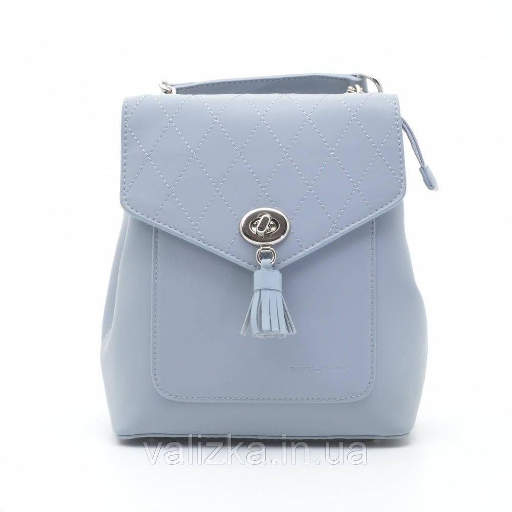 Рюкзак David Jones женский светло-голубой 6209-2Т