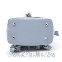 Рюкзак David Jones женский светло-голубой 6209-2Т, фото 3