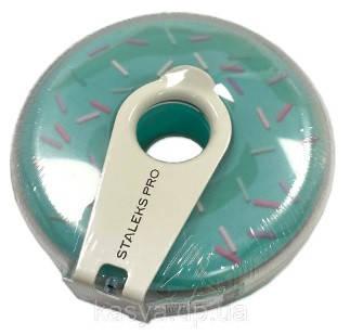 Змінний файл-стрічка з кліпсою для пилок Staleks PRO Bobbi Nail пончик 100 грит, 8 м