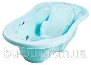 Ванночка анатомическая Tega TG-011 с термометром 101 light blue