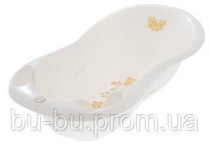 Ванночка Tega Teddy Bear MS-005 LUX 102 cm с термометром 118 white pearl