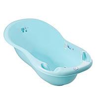 Ванночка Tega Dog & Cat PK-005 102 cm LUX со сливом и термометром 101 light blue