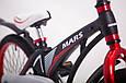 Детский легкий магниевый велосипед  MARS-20 дюймов Черный от 10 лет, фото 3