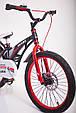 Детский легкий магниевый велосипед  MARS-20 дюймов Черный от 10 лет, фото 10