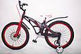 Детский легкий магниевый велосипед  MARS-20 дюймов Черный от 10 лет, фото 2
