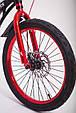 Детский легкий магниевый велосипед  MARS-20 дюймов Черный от 10 лет, фото 9