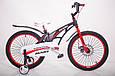 Детский легкий магниевый велосипед  MARS-20 дюймов Черный от 10 лет, фото 4
