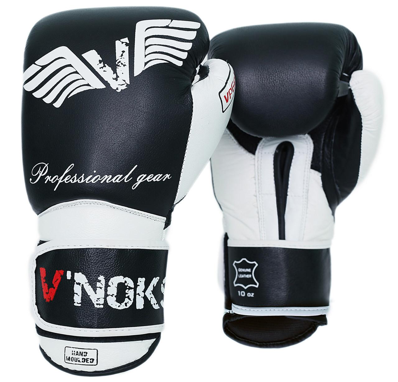 Перчатки боксерские V Noks Aria 12oz