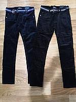 Вельветовые брюки на флисе для мальчиков оптом, Seagull, 134-164 рр., арт. CSQ-89971