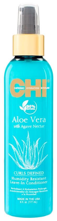 CHI Aloe Vera Humidity Resistant Leave-In Conditioner - Несмываемый кондиционер с алоэ, 177 ml