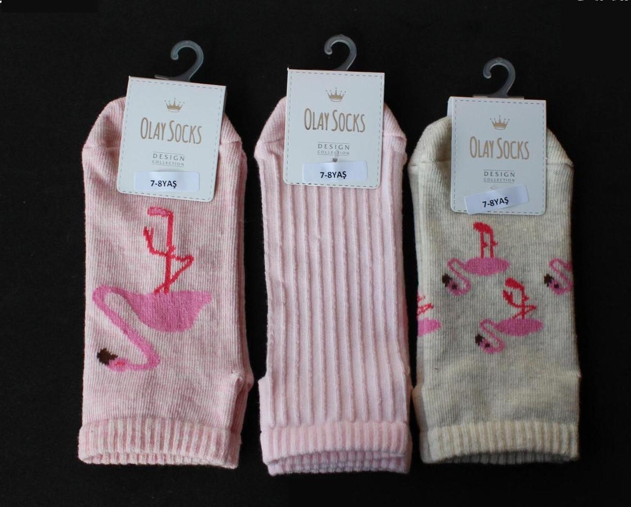 Хлопковые носки для девочек 7-8 лет ТМ Olay 54896127751561