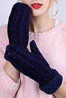 Перчатки FAMO Женские варежки Андри индиго One size