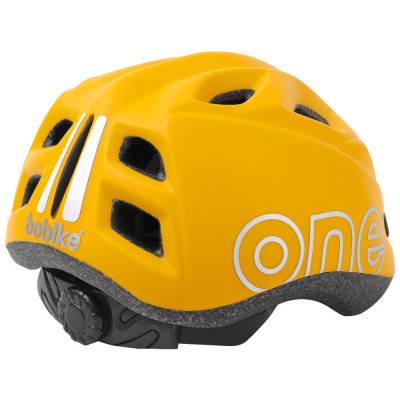 Шлем велосипедный детский Bobike One Plus / Mighty Mustard, фото 2
