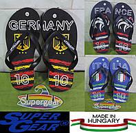 Вьетнамки мужские Super Gear (Венгрия). Шлепанцы сланцы пляжные.