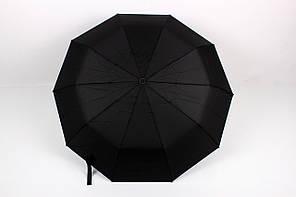 Мужские зонты No brand Зонт мужской Оха черный Диаметр купола 99.0(см)/ Длина спицы 56.0(см)/ Длина в сложенном виде 36.0(см) (SL452)