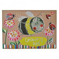 Альбом для малювання 30арк Funny animals крафт склейка білила + фол сер, YES(6)