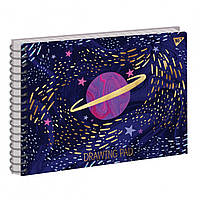 Альбом для малювання 30арк на спіралі ETTA VEE COSMOS софт-тач+фольга золото Yes (3)