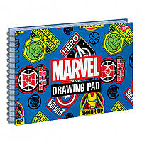 Альбом для малювання 20арк спіраль MARVEL гібрид. виб. лак YES (3)