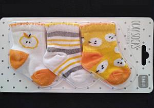 Набор хлопковые носки для новорожденных ТМ Olay 54896127851561