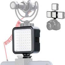 Накамерне світло Ulanzi W49 постійний для фото та відеокамер, фото 3