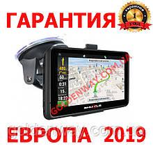 Автомобильный GPS навигатор Shuttle PNA-7028 экран 7 дюймов 256 ОЗУ, с картами Европы 2020 Igo Primo Truck