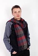 Мужские шарфы FAMO Мужской шарф Ватсон бордовый 180*30 (MS-04)