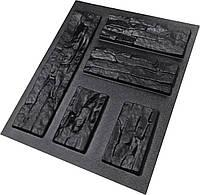 """Форма для искусственного камня Pixus 3D """"Восток"""" 48 x 48 x 2 см, фото 1"""