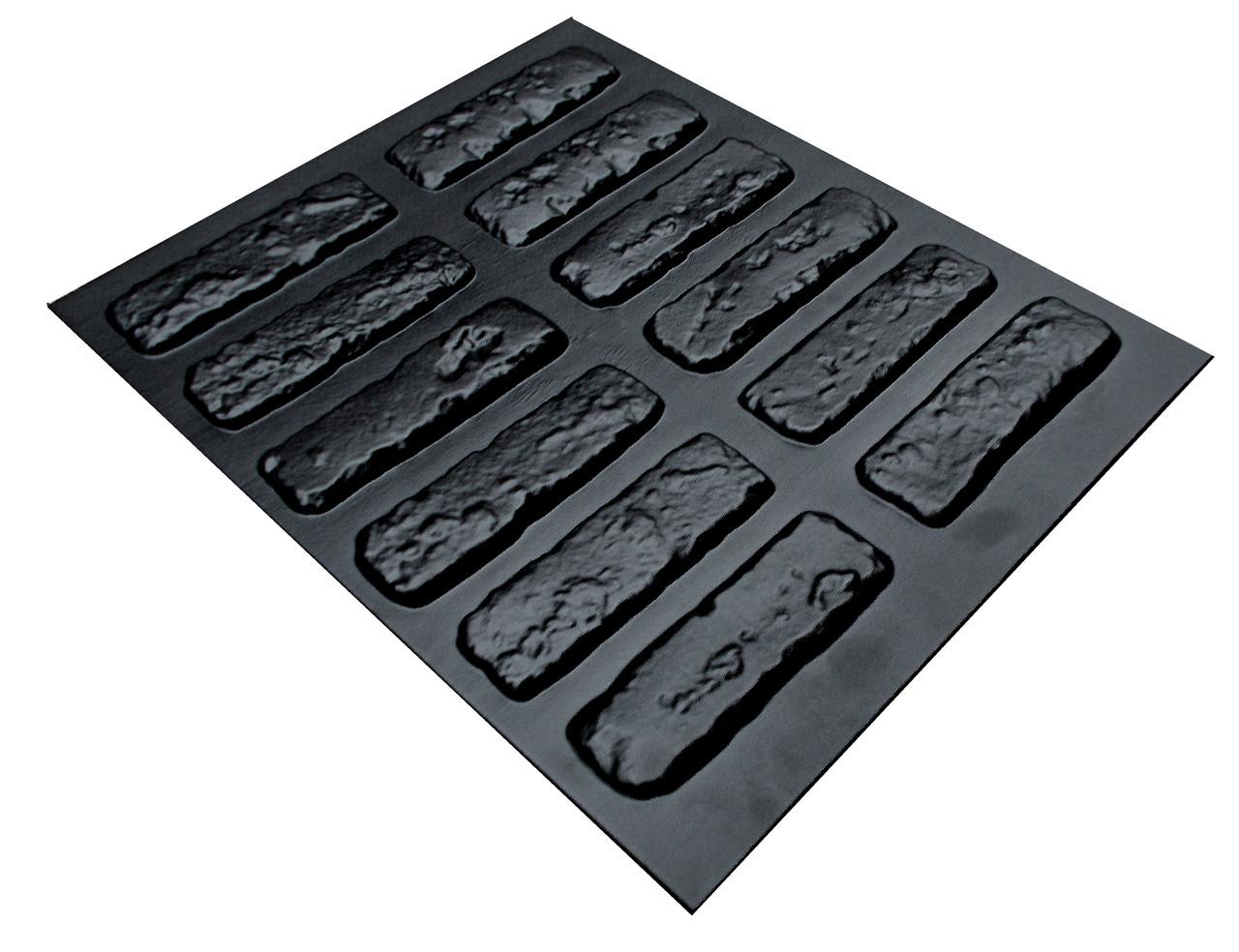 """Форма для штучного каменю Pixus 3D """"Бостон"""" 45 x 40 x 1 см"""