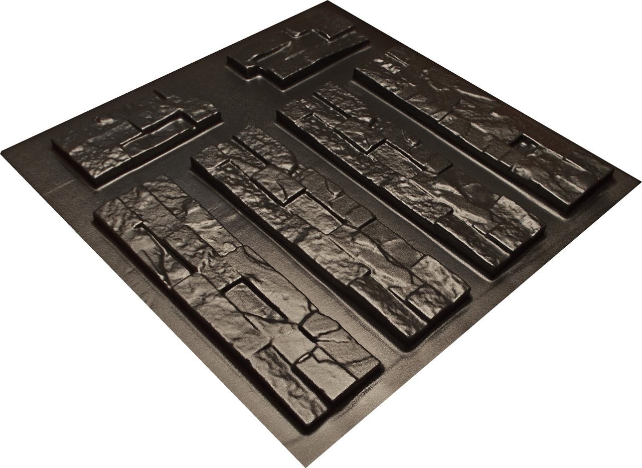 """Форма для искусственного камня Pixus 3D """"Америка"""" 45 x 40 x 2.5 см"""