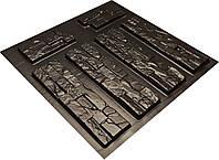 """Форма для искусственного камня Pixus 3D """"Америка"""" 45 x 40 x 2.5 см, фото 1"""