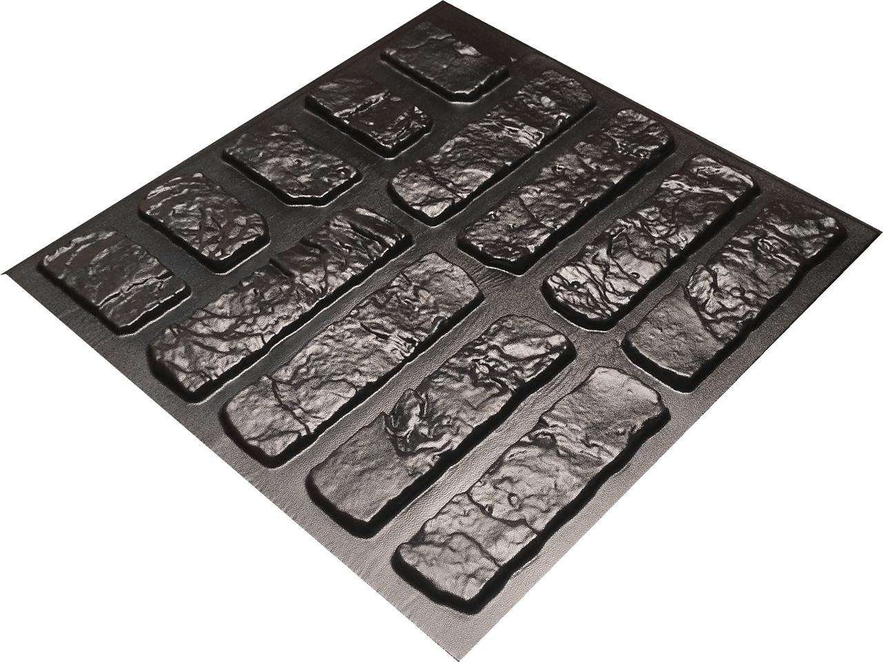 """Форма для штучного каменю Pixus 3D """"Кантрі"""" 45 x 40 x 1 см"""