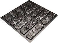 """Форма для искусственного камня Pixus 3D """"Кантри"""" 45 x 40 x 1 см, фото 1"""