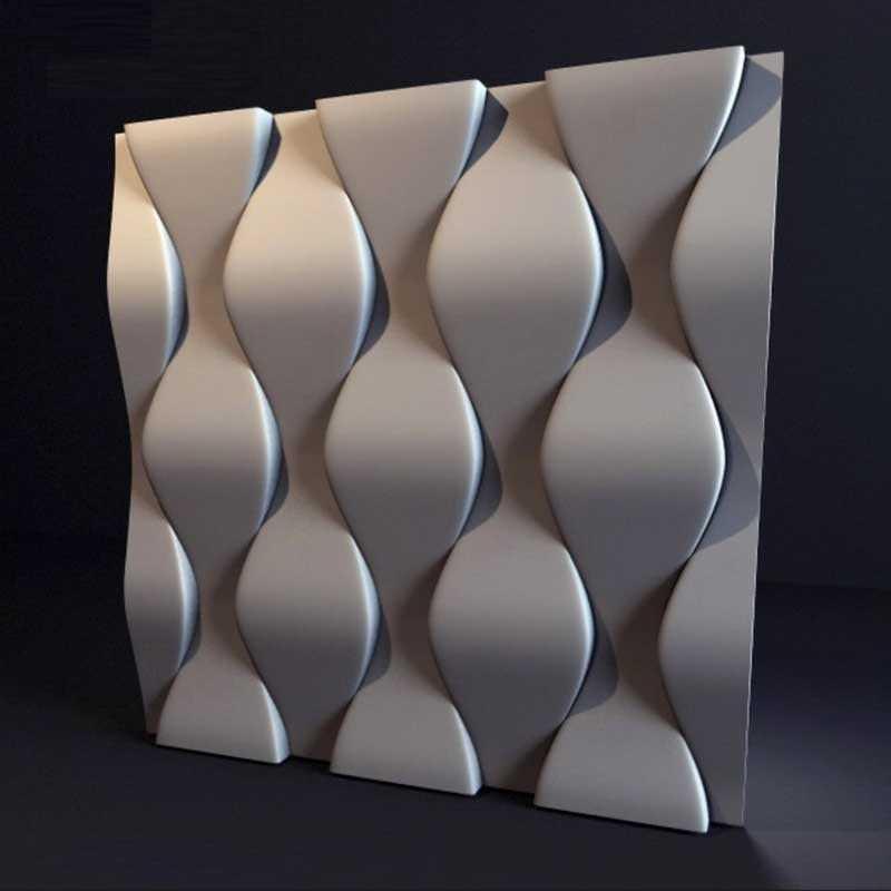 """Форма для 3Д панелей Pixus 3D""""Нежность"""" 50 x 50 x 2 см"""